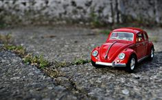 Toy retro car