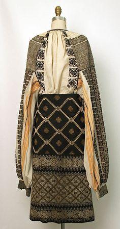 Ensemble Date: 19th century Culture: Romanian Medium: wool, cotton