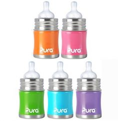 Purakiki Babyflasche 150 ml plastikfrei