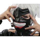 $35.99 - $79.99 XCOSER Scary Ken Kaneki Mask Wig Cosplay Props for Halloween Costume deals