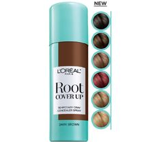 Our New Root Cover Up conceals grays in seconds for flawless roots. Get seamless coverage with a lightweight, no smudging or sticky residue when dry, that's ammonia and peroxide free. Perfect for in between  color or salon visits--3 seconds to flawless roots.  DIRECTIONS: SHAKE WELL. HOLD CAN 4-6 INCHES FROM HAIR. SPRAY COLOR ONTO NEW GROWTH AND PARTLY THROUGH THE LENGTH OF THE HAIR.