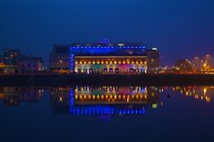 Dublin, Night, O2, Reflections