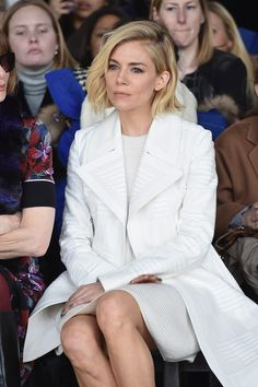 Sienna Miller Photos: Front Row at Calvin Klein Collection