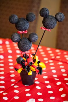 """Photo 1 of 36: Mickey Mouse / Birthday """"Jax's First Birthday"""" 