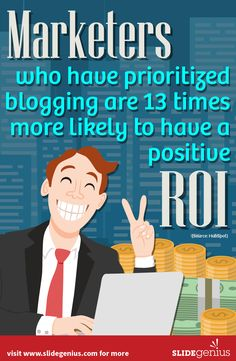 Get 13 times more positive ROI with this strategy! Visit www.slidegenius.com for more info #contentmarketing  #infographic #mktg #ad #digitalmarketing #marketing #infographics #business #contentmarketing #slidegenius #b2b #blog #content #leads #prospects #audience #branding #brand #brandstrategy #socialmedia #smm #seo #adwords #googleads #videos #videomarketing #biz #entrepreneur #presentation #microsoft #powerpoint