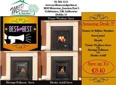01 804 1111 sales@mcdhomeandgarden.ie Dublin, Multi Fuel Stove, Fireplace Inserts, Hearth, Gazebo, Home And Garden, Home Decor, Wood Burning Insert, Home
