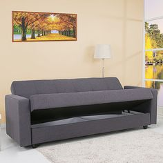 Leader Lifestyle Jensen 3 Seater Convertible Sofa Bed I