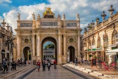 Frankreich, Triumphbogen in Nancy / France, Arc de Triomphe in Nancy