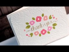 ▶ MACM - Thank You (Diffuser Embossing) - YouTube