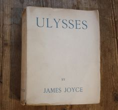 A fifth printing of //Ulysses//, inscribed by Joyce to the French writer and literary critic René Lalou. //Ulysses// looms so large over the literary landscape of the twentieth century, that scarce is the author writing after Joyce who can not be said to owe a debt to him.   At the time of dedication, in April 1925, Joyce was living in a rented apartment at 8 Avenue Charles Floquet, a stone's throw from the Eiffel Tower. He had hoped to leave for Br...