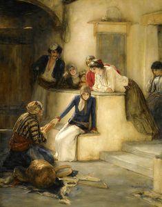 The Fortune Teller by Nikolaos Gyzis, 19th Century