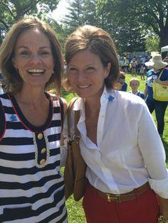 Autism Speaks President Liz Feld and National Board Member Laura Slatkin at the Westchester/Fairfield Walk