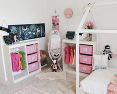 Organize Your Child's Clothes With This DIY Wardrobe Station - Oh Happy Play