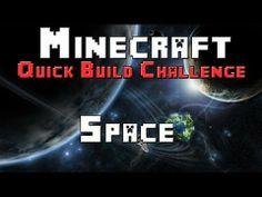 Minecraft Xbox - Quick Build Challenge - Quarter Finals - Space