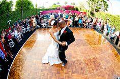 backyard wedding by photography by jabez