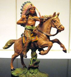 FARLEY'S FIGURE OF THE WEEK #168: Pfeiffer Mounted Indian. read more on our blog.