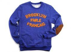 Brooklyn We Go Hard Parle Francais Sweat #fashion