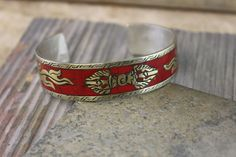 Dharmashop.com - Inlaid Tibetan Dorje Bracelet , $25.00