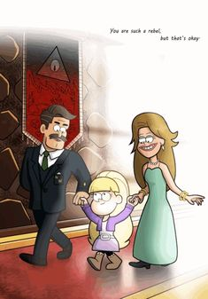 You Are Such A Rebel but that's okay... (We made a deal with someone so you'll obey) Gravity Falls