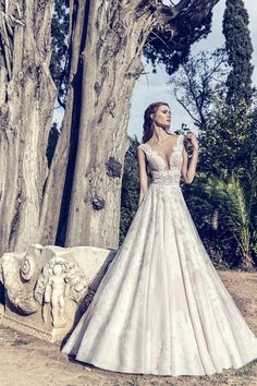 A new era begins for Costantino, with two new members joining the designing team. With Fay and Marianna,. Dream Wedding Dresses, Bridal Dresses, Greek Fashion, Constantino, Destination Wedding Planner, Timeless Elegance, Ball Gowns, Celestial, Couture