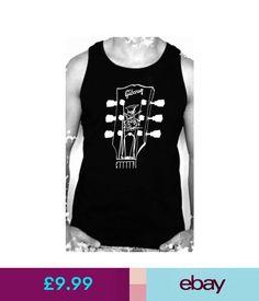T-Shirts Slash Tribute Gibson Les Paul Guitar T-Shirt Lead Guitar Rock Metal Vest Top #ebay #Fashion