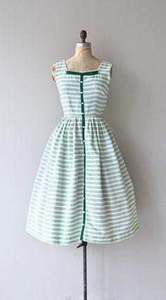 Summer Glen dress vintage 50s dress cotton 1950s by DearGolden