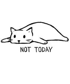 Not Today By Fox Shiver Men's T-Shirt Threadless ! nicht heute von fox shiver herren t-shirt threadless Not Today By Fox Shiver Men's T-Shirt Threadless ! Drawing Tutorials, Drawing Tips, Doodle Art, Cat Art, Framed Art Prints, Illustration Art, Sketches, Bullet Journal, Simple Cat Drawing