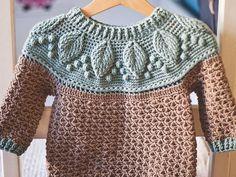 Ravelry: Harvest Sweater pattern by Mon Petit Violon Col Crochet, Crochet Cardigan, Single Crochet, Crochet Baby Sweater Pattern, Baby Sweater Patterns, Cardigan Pattern, Baby Patterns, Knitting Patterns, Crochet Patterns
