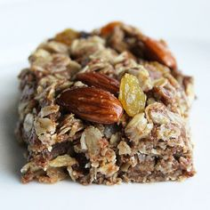 Bake a Batch of Nut Butter Breakfast Bars: Photo: Lizzie Fuhr  Looking for a new quick and portable homemade breakfast