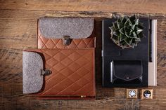 iPad Air case genuine leather wool felt ipad cover by FeelFeltLt tablet case ipad accessories ipad leather case ipad leather sleeve apple ipad case best cover Macbook Pro Bag, Laptop Case Macbook, Leather Laptop Case, Macbook Air, Ipad Air 2 Cases, Ipad Case, Felt Case, Ipad Accessories, Ipad Sleeve
