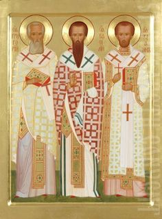Icon of Three Holy Hierarchs:: St Gregory the Theologian, St Basil the Great and St John Chrysostom, #CatalogOfGoodDeeds #icon #iconography #orthodoxicon #orthodoxiconography #paintedicon #iconsinoklads #mountedicons #buyicon #ordericon #handpainted #lacqueredicon #iconpainters #iconographers #Hierarchs #HolyHierarchs