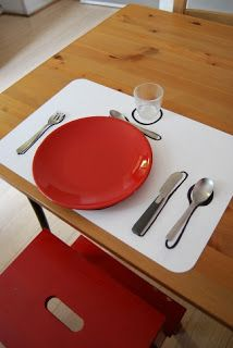 Set de table coin cuisine