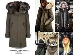 Woolrich jacket from Botó & Co store at Pedralbes Centre  www.urbanityshopping.com