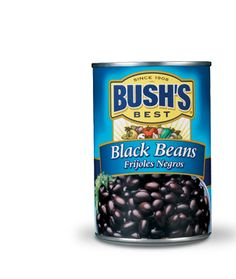 """Bush's Best Black Beans  #CooksIllustrated Taste Test Winner """"Recommended""""  #TasteTestTriumphs"""