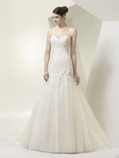 Charming Trumpet/Mermaid Sweetheart Beading&Sequins Lace Sweep/Brush Train Tulle Wedding Dresses