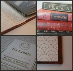 Marston Bindery Kindle covers - Crumbs and Petals