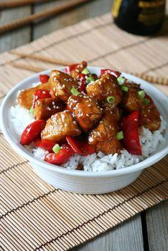 Lepkavé krůtí kousky – Vařeniště No Salt Recipes, Great Recipes, Cooking Recipes, Good Food, Yummy Food, Tasty, Asian Recipes, Healthy Recipes, Ethnic Recipes