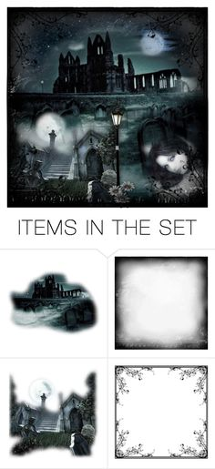 """""""In the dark"""" by cassy-style ❤ liked on Polyvore featuring art, Dark, Night and artset"""