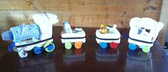 Boys Diaper Train by Michelle's baby cakes