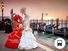 Velencei karnevál záróhétvége: non-stop buszos utazás, városnézés idegenvezetővel, fakultatív pogramlehetőség: Murano / 2016. február 05-07. / fő