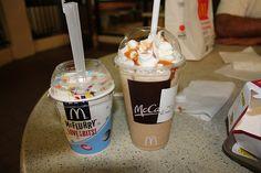 McFlurry & Frappe... yes pleaseeee