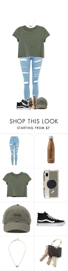 """""""gonna have some cold weather coming up🙏🏻"""" by heyymaisey ❤ liked on Polyvore featuring Topshop, West Elm, Kate Spade, Vans, Kendra Scott and Various Projects"""
