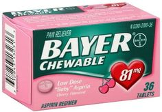 ***SCORE BAYER CHEWABLE ASPIRIN FOR ONLY 97¢ EACH AT TARGET with NEW COUPON*** Click the link below to get all of the details and a direct link to the coupon ► http://www.thecouponingcouple.com/cheap-bayer-chewable-aspirin-at-target/