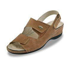 Sandalias de Piel Haiti Camel