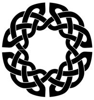 Round Knot Tutorial - Making Round Knots with Word Art Viking Designs, Celtic Knot Designs, Celtic Symbols, Celtic Art, Celtic Knots, Elefante Tribal, Celtic Circle, Celtic Patterns, Wood Burning Patterns