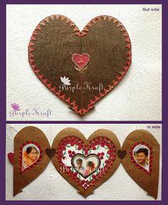 Purple Kraft: Special Greeting card Greeting Cards, Diy Crafts, Purple, Make Your Own, Homemade, Craft, Viola, Diy Artwork, Diy Crafts Home