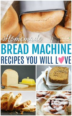 The best Breadmaker Recipes on Frugal Coupon Living. Our round-up of favorite homemade bread recipes you can perfect in the bread machine with simple secret recipes to create the best-tasting bread. bread recipes breadmaker The Best Breadmaker Recipes Breadmaker Bread Recipes, Easy Bread Machine Recipes, Best Bread Machine, Bread Maker Recipes, Easy Bread Recipes, Cooking Recipes, Bread Machine Beer Bread Recipe, Sourdough Bread Machine, Bread Machine Banana Bread