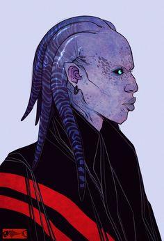 alien head concept 1_The-Brade by Zarnala on deviantART