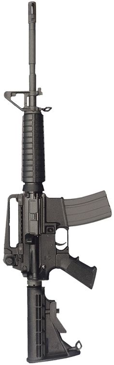 A Bushmaster carbine Survival Weapons, Weapons Guns, Guns And Ammo, Assault Weapon, Assault Rifle, Tactical Equipment, Tactical Gear, Rifles, Airsoft