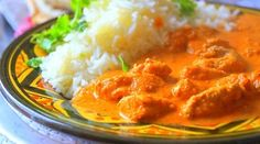 Recette poulet à l'indienne (Butter chicken) Butter Chicken, Mashed Potatoes, Ethnic Recipes, Sauce Tomate, Central, Voici, Food, Cooker Recipes, Drinks